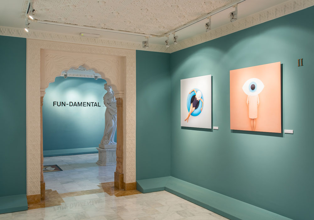 Anna Devís y Daniel Rueda. 'Fun-Damental'. Exhibition in 'Fotomatón Festival'