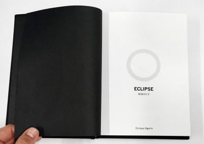 'Eclipse'. Enrique Algarra