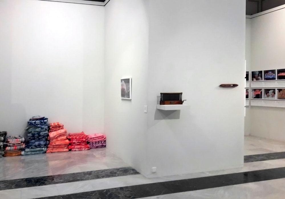 Pilar Beltran. 'Entramats'. Imaginaria 2018. Fundació Caixa Castelló.