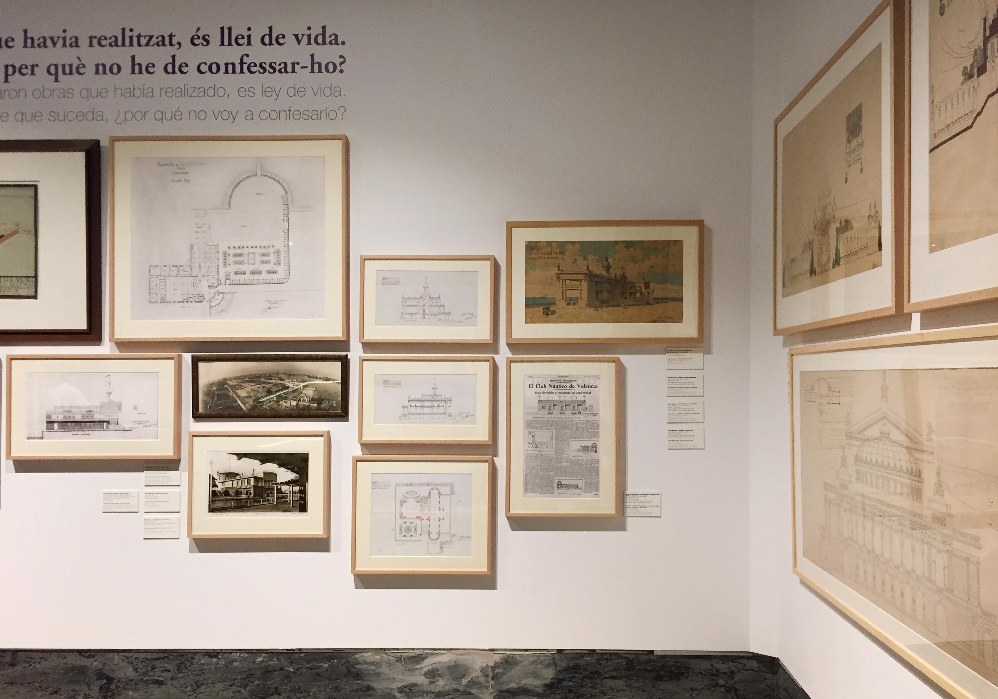 Exposición: 'Javier Goerlich Lleó: Arquitectura, Urbanismo en Valencia (1914-1962). Foto: ©Estudio Paco Mora