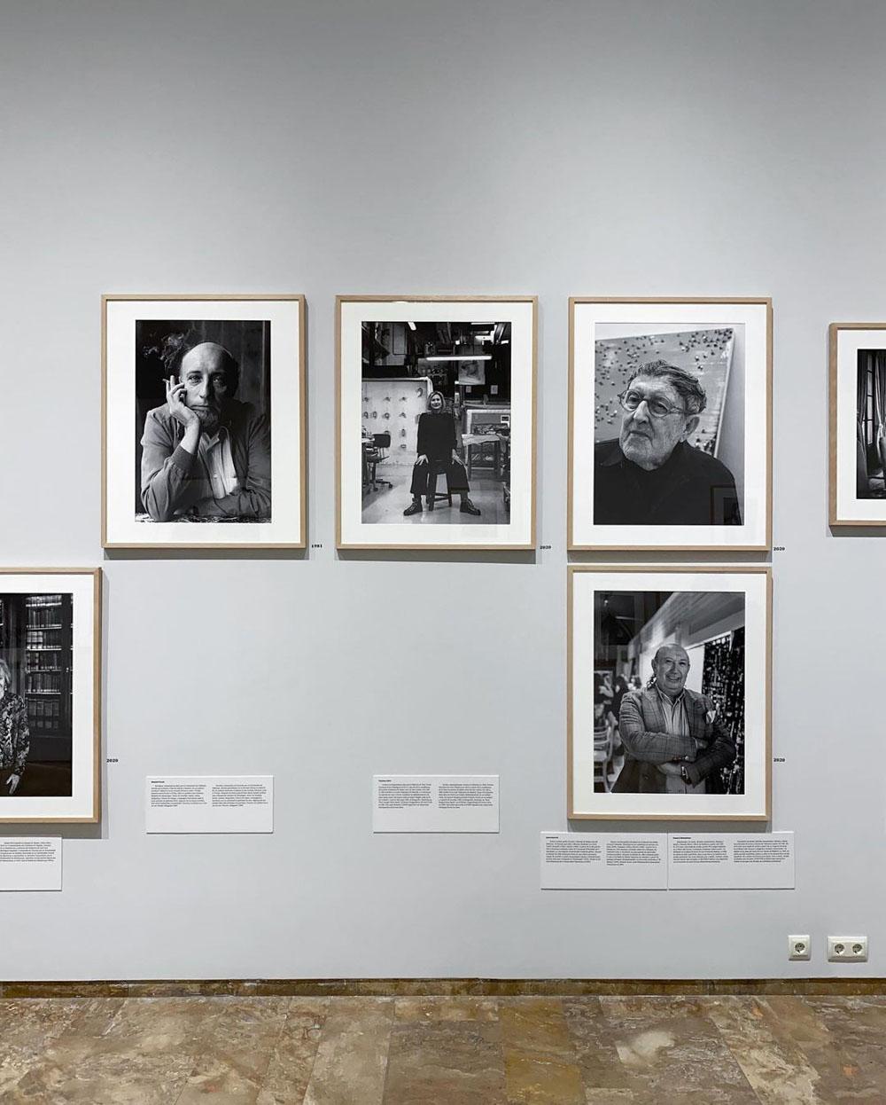 Las caras del tiempo. Ricardo Martín. La Nau. Estudio Paco Mora.