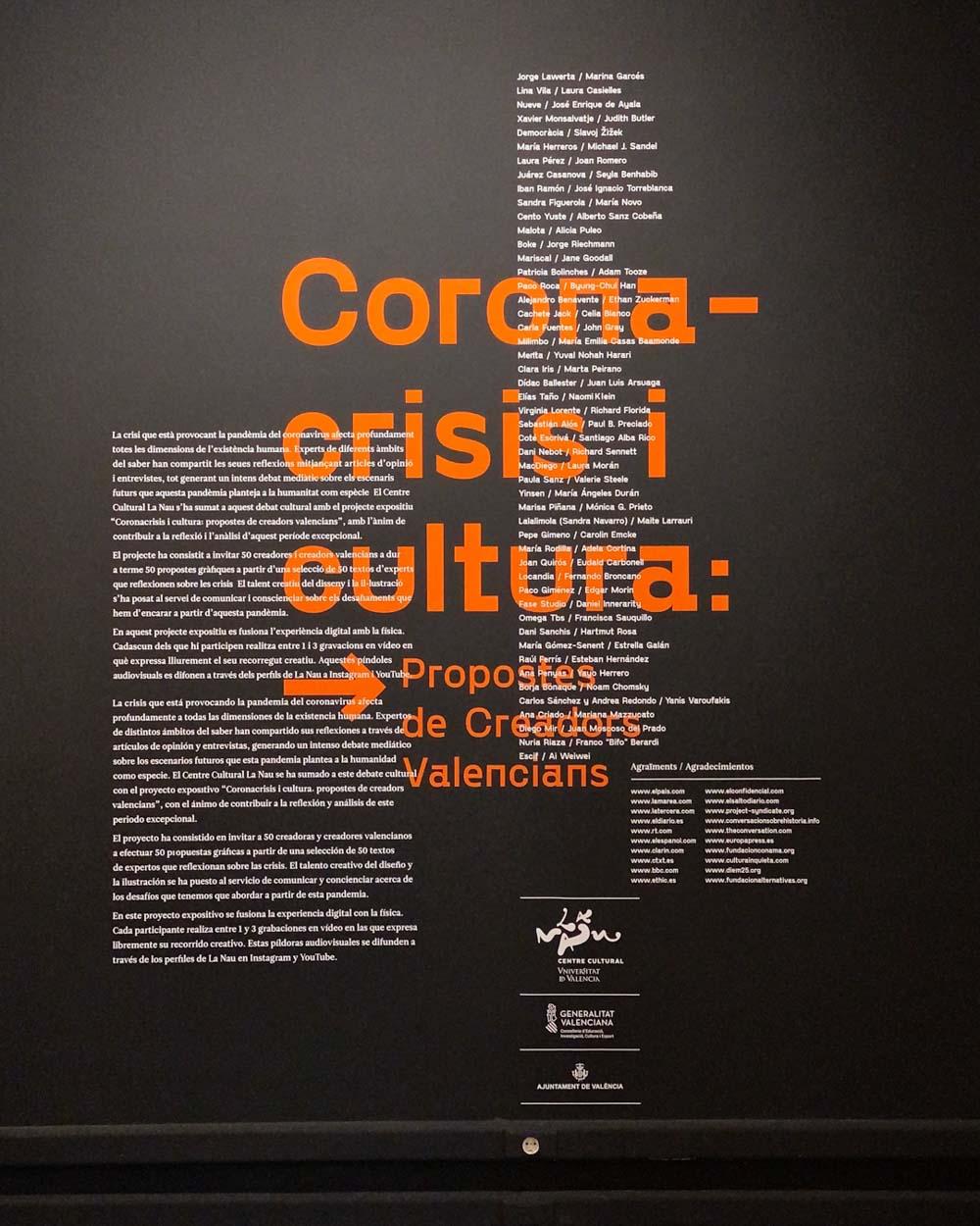 'Coronacrisis'. La Nau. Estudio Paco Mora.